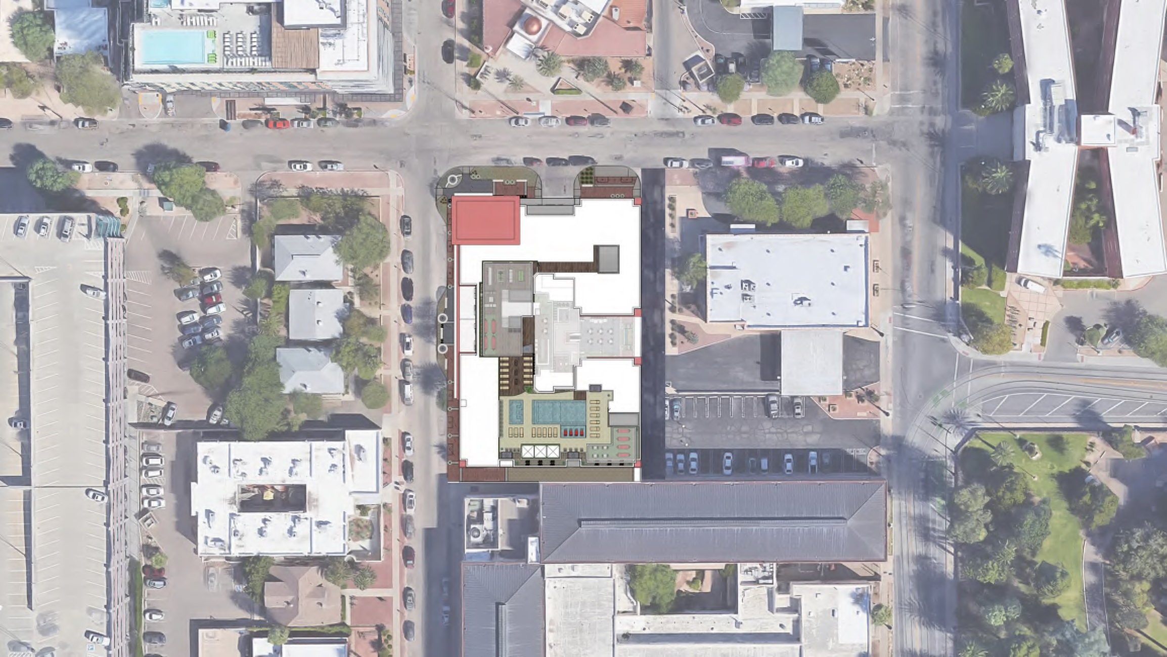 The Next Midrise Student Housing Building Looks To Be Beginning Construction Hoping For A Completion Before The 2018 Fall Semester Tibo Tucson Improvement Blog