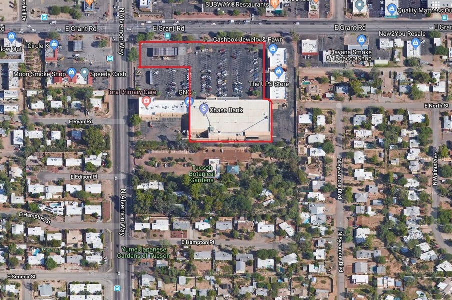 Vacant Fryu0027s Creates Opportunity For Tucson Botanical Gardens To Expand
