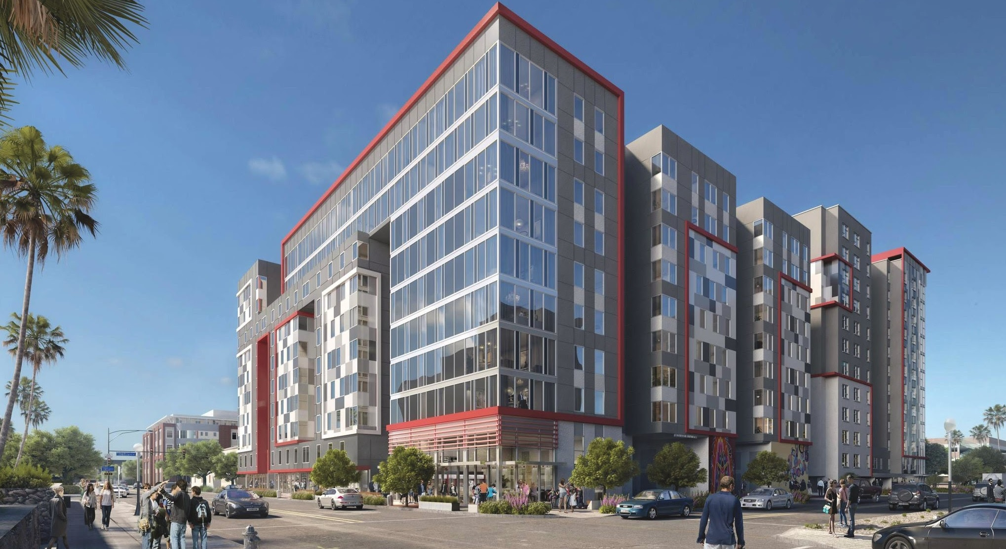 Next Wave Of Student Housing Towers Set To Begin Construction This Fall Tibo Tucson Improvement Blog